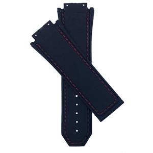 30mm en caoutchouc de silicone noir Bracelet Wristband remplacement étanche avec sangle outil sans boucle For / For King / Power
