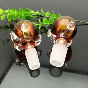Renk ejderha pençesi cam köpük kafa Cam Bbong Wwater Boru Titanyum tırnak değirmeni, Cam Sigara Farı Için Mix Renkleri Farı ...