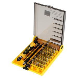 Juego de destornilladores 45 en 1 Juego de herramientas manuales finas Juego de tornillos para destornilladores Juego de herramientas manuales intercambiables para disco duro de teléfonos móviles