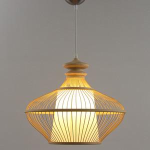 Amboo LEVOU lâmpada pingente de Cordão Pingente de Madeira e27 D80cm Luz Pingente de Malha De Mão Para Mall Porch Parlor Estudo Hotel Hall G002