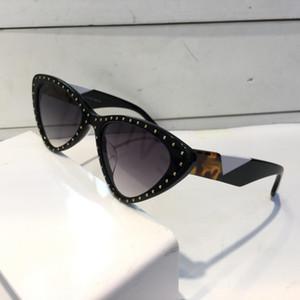 Роскошные 0323 солнцезащитные очки для женщин мода дизайн популярные очаровательные Кошачий глаз Солнцезащитные очки высокое качество УФ-защиты солнцезащитные очки поставляются с пакетом