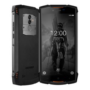 "Doogee S55 IP68 su geçirmez 4GB 64GB 5.5"" HD + Mobil MTK6750T Telefon Android 8.0 Octa Çekirdek akıllı telefon 13 MP Kamera 5500mAh 5V2A Hızlı Şarj"