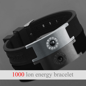 LITTLE FROG Tourmaline Energy Balance Bracelet Health Energy Care Jewelry For Mens Germanium Magnetic Bracelets Bangles 20011