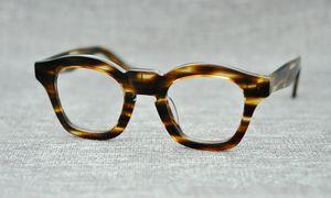 Marque 2018 Marque design THE MASK lunettes johnny depp lunettes top Qualité marque ronde lunettes de vue monture avec flèche Rivet