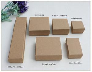 XS High Archives Brown Kraft Schmuck Verpackung Armband Halskette Ring Ohr Nagel Box Weihnachten Neujahr Geschenk 9 Größe anpassen