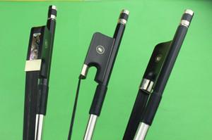 New PRO Carbon fiber Double Bass Bow 3 4 size ebony frog black horse hair