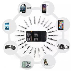 25 1 Torx Hassas Tornavida Onarım Aracı Seti iPhone Cep Telefonu Tablet PC için El Aletleri Aksesuarları