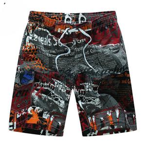 Summer Hot Men Beach Shorts Quick Dry Printing Board Shorts Men Fashion Men Summer Pant 8 Colors Size M-3XL