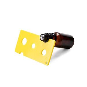 فتاحة زجاجات من البلاستيك الفتاحات العملية من الضروري النفط الأسطوانة الكرة البسيطة لسهولة إزالة قبعات الأسطوانة الفوهة المخفض إدراج زجاجات