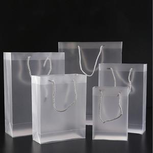 Mate transparente Bolsos para la ropa cosméticos de maquillaje festivo y Viajes transparente de embalaje de plástico transparente del bolso 10 Tamaños universal