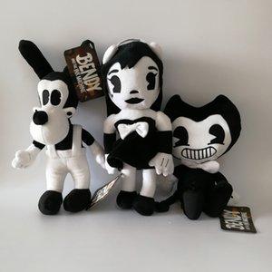 3pcs / lot NEUE Bendy und die Ink-Maschine Bendy Hund Plüsch-Puppe spielt für Chidlren Weihnachtsgeschenk 11.8inch 30cm