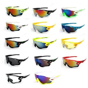 Wholesale cycling glasses outdoor sports men's sunglasses UV400 new fashion sunglasses hot sale for free shipping