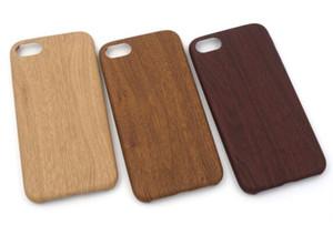 Novo arrvial para iphone x / 8/8 plus / 7/7 plus / 6/6 s / 6 splus / 5 / se imitar a textura de madeira pu case capa mole à prova de choque plugue protetor de telefone