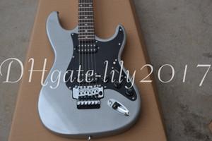 Gray top LOCKING TREMOLO electric guitar free shipping