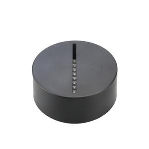 Base de lámpara LED económica 7 luces RGB para lámpara de ilusión 3D Placa de acrílico de 3 mm DC 5V USB alimentado por mayor de fábrica