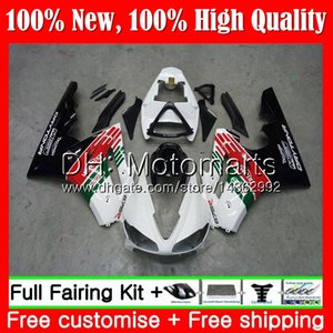 Cuerpo para Triumph Daytona 675 02 03 04 05 06 07 08 Verde blanco 7MT22 Daytona 675 2002 2003 2004 2005 2006 2007 2008 02-08 Carenado Carrocería
