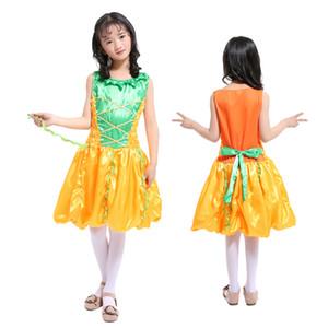 الأطفال زي كوس اليقطين الأميرة اللباس فتاة تنكر الساحرة تظهر ملابس الفتيات فساتين لعيد الميلاد هالوين الحزب عيد ميلاد