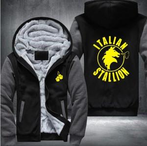 Rocky Balboa Italienisch Pferd nette Entwurf Jacke Hoodies Hoody Adult USA Größe S-5XL
