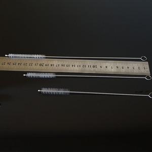 175 mm Cepillo de acero inoxidable de la paja por paja Tazas Tazas botella de paja Gadgets Accesorios de cocina al por mayor 500pcs de DHL