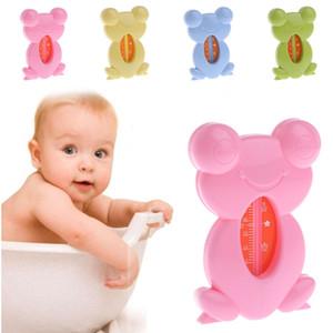 귀여운 만화 개구리 욕조 목욕 안전 수 온 온도계 테스터 아기 어린이 무료 배송 고품질의 2018 새로운 핫 세일 도매 oem