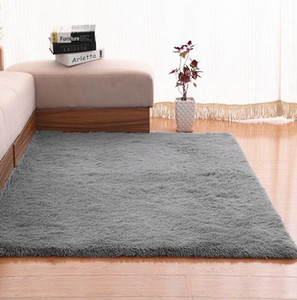 Large Size Plush Shaggy carpet fluffy carpet for Living Room Bedroom kids rug home mat non-slip 200*50 200*80 sofa table mat