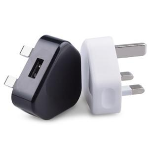 Prezzo all'ingrosso di fabbrica universale 5 V 1A spina UK carica veloce caricabatterie da viaggio adattatore dock caricabatterie da parete usb per samsung s9 8 plus