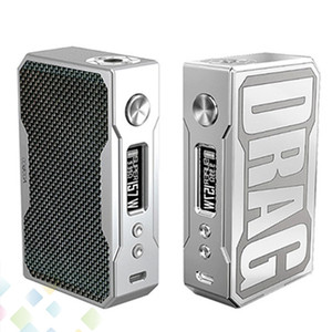 Authentic Voopoo Drag 157W Box Mod Carbono Fiber Edition Instant Fire Vape Mod E Cigarro Fit 18650 Bateria DHL GRÁTIS