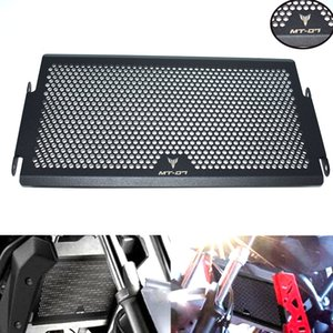For Motorfiets Radiator Grille Guard Cover Cooler Protector for Yamaha MT07 mt-07 water tank net cover water cooler protection cover