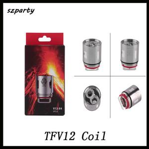 Remplacement de tête de bobine de TFV12 têtes d'atomiseur V12 T12 T8 T6 X4 Q4 pour TFV12 réservoir monstre nuage vape DHL gratuit