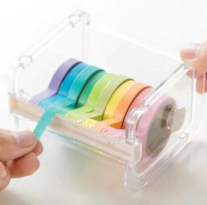 Heißer Schreibwaren Masking Tape Cutter Washi Tape Speicherorganisator Cutter Bürobandspender Bürobedarf SN1486