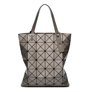 Bolsa de losango geométrica saco das mulheres 2018 novo 6o 7 laser single-shouldered saco úmido portátil
