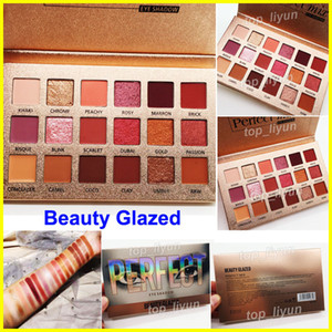 Makeup Beauty Glazed Eyeshadow Palette Perfect 18 colors ultra pigmented eye shadow new nude Pro Eyes Brand Cosmetics in stock
