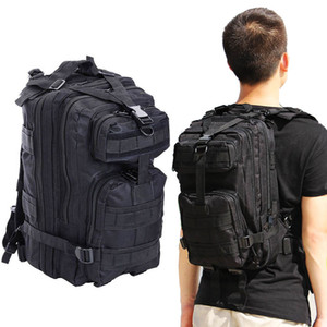 Tactical 3 P Mochila Do Exército à prova d 'água 35L sistema Molle laptop Ataque Strike pack Para Exército Fãs' Caminhadas Ao Ar Livre Camping Equitação