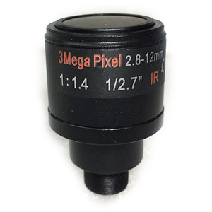 1 / 2,7 pulgadas objetivo varifocal de 2,8 mm-12 mm 3Megapixel M12 de montaje para la cámara 720P / 1080P / 3MP IP o / CVI / cámara AHD TVI CCTV