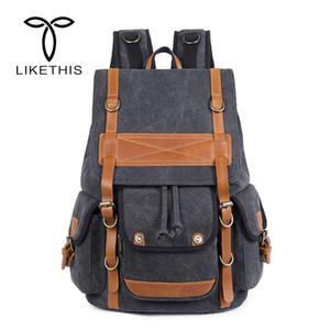 New Brand Design große Kapazitäts-Mann-Rucksack Reise Multifunktionale Taschen Mode männlich Rucksäcke koreanische Art Schultasche 282