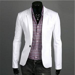 Mode Blazer Männer 2018 Neue Frühling Herbst Kleidung Candy Colors Blazer Masculino Casual Slim Fit Wild Terno Herren Anzug Jacke