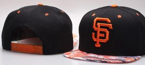 New Brand design San Francisco Hat SF Cap Uomo Donna Baseball Caps Snapback Tinta unita Cotton Bone Cappello europeo moda americana 001