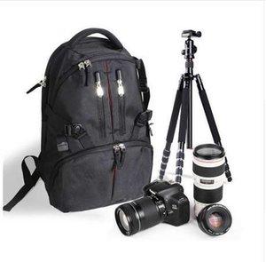 Impermeabile durevole fotografia zaino fotocamera borsa zaino per Nikon Canon 550D 60D 7D 5DII 500D 450D 1000D fotocamere DSLR