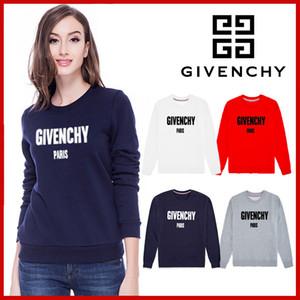 T-shirt de manga comprida blusa novo inverno de outono versão coreana do top solto letras impressas han fã da camisola das mulheres da moda