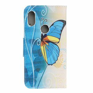Совы Печатные Цветочные Pattern Кожаный Кошелек PU Кожаный Чехол Телефон Чехол для Xiaomi MI Pocophone F1 Redmi Примечание 6 Pro A2 Lite 6A