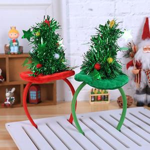 Рождество оголовье украшения партия головной убор Red Hat Нетканые оголовье отдыха партии Birthday Party Supplies Gift Wrap HH7-1865