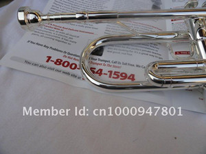 Suzuki Exquisite Bb Trumpet Silvering Surface 965 Brass Instruments High Quality Professional Trumpet For Students Free Shipping