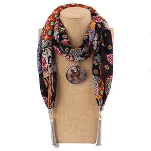 Moda Toptan ücretsiz gönderim Yeni Geliş Charms Eşarp takı kolye Eşarp Takı Eşarplar kolye Eşarp kolye ile