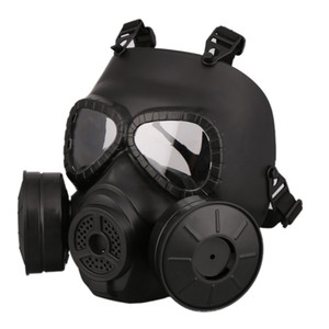 M40 Double Fan Gas Mask CS Filter Paintball Helmet Tactical Army Capacetes De Motociclista Guard FMA Cosplay