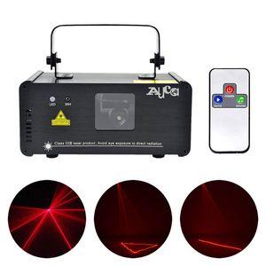 IR Remote PRO Mini 8 CH DMX 512 200mW أحمر ليزر إضاءة مسرح ماسحة DJ حزب عرض ضوئي معدات ضوئي