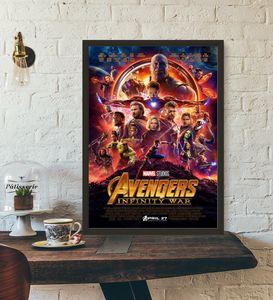 Vengeurs Infinity War Movie Affiche Mur Art Wall Decor Décor De Soie Art Affiche Peintures Pour Salon No Frame c05