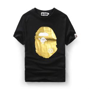 2017 neue stil affe t-shirts pullover herrenbekleidung justin bieber leuchtdruck kurzarm herren rundhals baumwolle t-shirt.