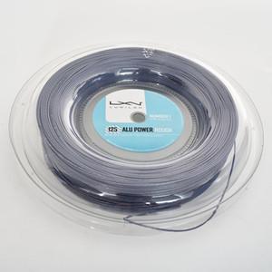 Хорошее качество Большой сосиска полиэстер Luxilon теннис Струнный катушка 200м полиэстер 660ft Серый цвет