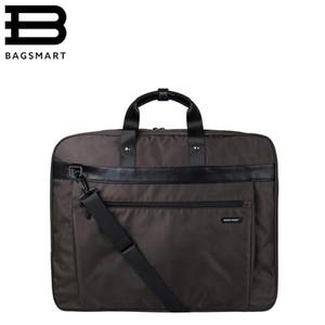 BAGSMARTSuit крышка легкий черный нейлон бизнес платье одежда сумка водонепроницаемый костюм сумка мужской костюм путешествия