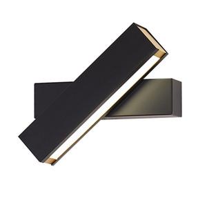 Nordic modern minimalist headboard wall lamp 270 degree rotated LED bedroom creative wall light for aisle corridor stairs